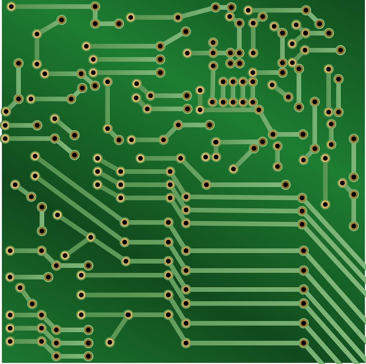 circuit board, electronics, printed circuit board